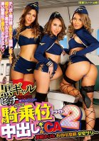 Welcome To Tanned Gal Bitch Airlines! A Cowgirl Ass Shaking Creampie Flight Gal Cabin Attendant 2-Natsuku Hasegawa,Marina Natsuki,Sally Amuro