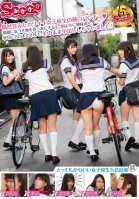 A Chance Glimpse of a Schoolgirl's Pure White Panties - When She Notices Your Gaze, She Goes Bright Red, But Really She's Interested in Sex! In The End She Confesses To You, And Then You Creampie Her!-Mai Imai,Yuuna Himekawa,Kanna Koharu,Yuzuki Hoshino,Mio Shinosaki